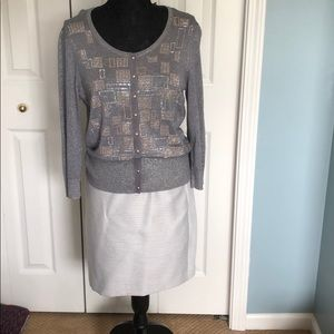 White House Black Market Sweaters - Sweater and skirt